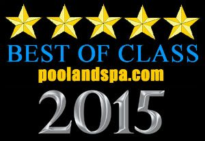 Premium Leisure Spas rated best of class 2015 by poolandspa.com