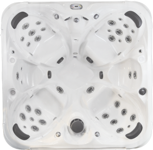 Pinnacle PN 743 spa Topview