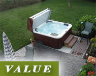 Spa on the patio - Value Image